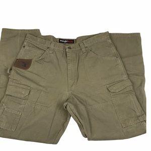 Wrangler Riggs Work Wear Cargo Carpenter Pants